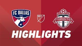 FC Dallas vs. Toronto FC   HIGHLIGHTS - June 22, 2019 by Major League Soccer