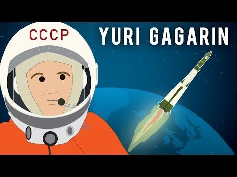 Юри Гагарин Фирст Хаман ин Спаке (1961)