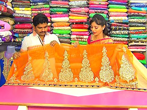 Latest Collection of Kalakshetra Pattu and Designer Sarees | Sogasu Chuda Tarama | Vanitha TV 23 November 2015 06 05 PM