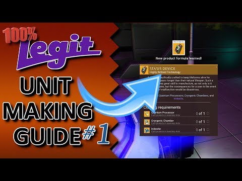 100% Legit Unit Making Guide - No Man's Sky Next - [ NMSN Tips And Tricks ]