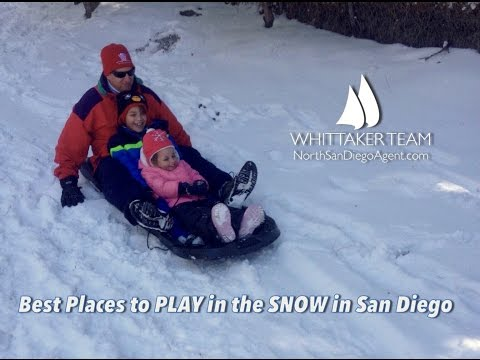 Best Places to Play in the Snow in San Diego