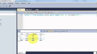 Beginners MYSQL Database Tutorial 6#  MySQL AND&OR Operators Statement Query