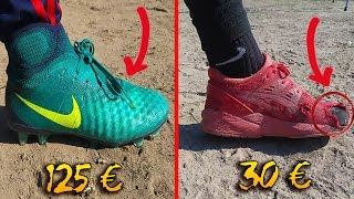 Video CHAUSSURES DE FOOT À 30€ VS CHAUSSURES DE FOOT À 125€ ! 🔥⛔️⚽️ MP3, 3GP, MP4, WEBM, AVI, FLV Mei 2017