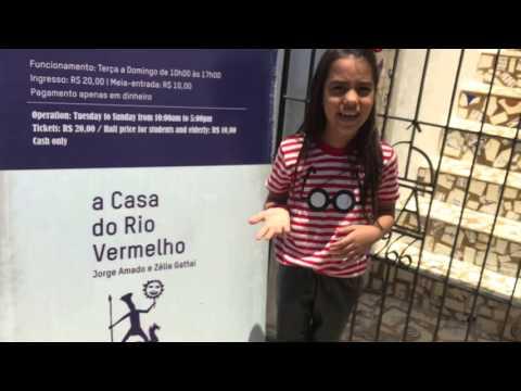 Entrada da CASA DO RIO VERMELHO - Casa de JORGE AMADO E ZÉLIA GATTAI