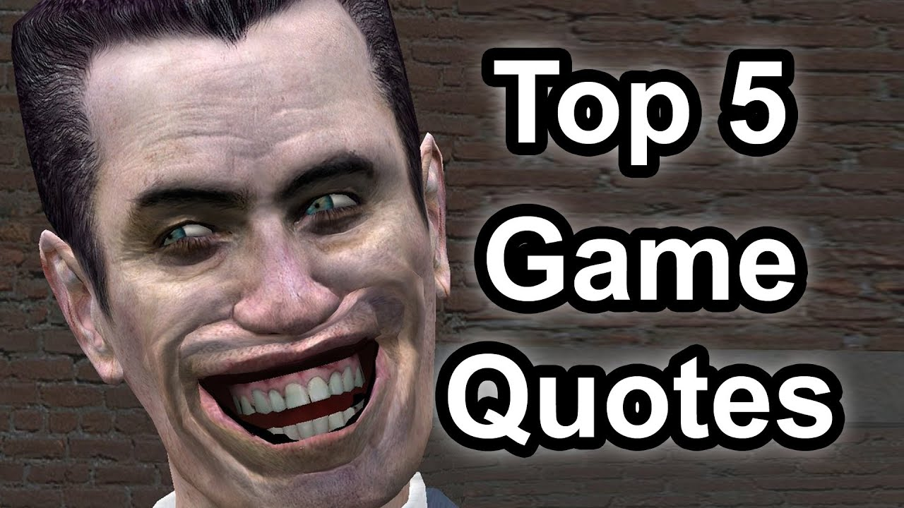Top 5 – Game quotes