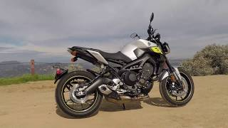 8. 2017 Yamaha FZ-09 First Ride
