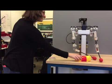 A Robot from Disney shows very fluid motion