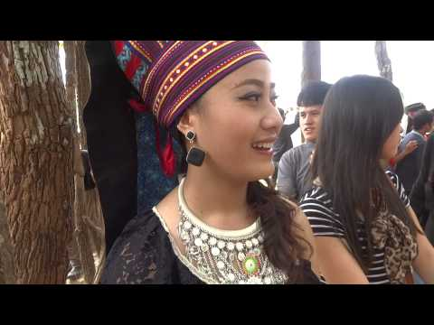 HMONG NEW YEAR IN LAOS 2013-2014: BEAUTIFUL HMONG GIRL IN LAOS