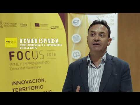 """Entrevista a Ricardo Espinosa en #FocusPyme """"Cómo convertir tu empresa en una Industria 4[;;;][;;;]"""