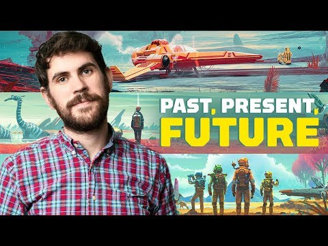 Sean Murray On the Present, Past and Future of No Man's Sky (видео)