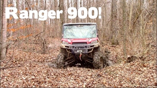 7. Polaris Ranger XP 900 Mudding & Trail Riding! || SHREDDING!!!