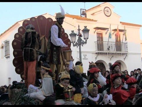 Cabalgata Reyes Magos en La Redondela (5 Enero 2020)