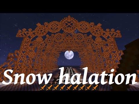"""[Нотные блоки][NoteBlock] 音ブロックで""""Snow halation"""" [ラブライブ!]"""