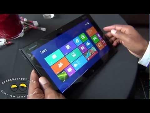Lenovo ThinkPad Tablet 2 Hands-on- Windows 8