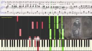 Жёлтый Ангел - А. Вертинский (Ноты и Видеоурок для фортепиано) (piano cover)