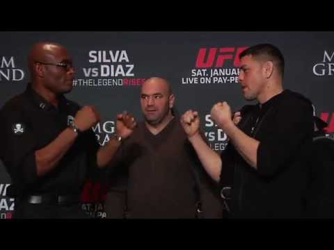 UFC 183: Anderson Silva and Nick Diaz Faceoff