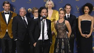 Emmys 2018: Game of Thrones Cast Backstage (Full Press Conference)