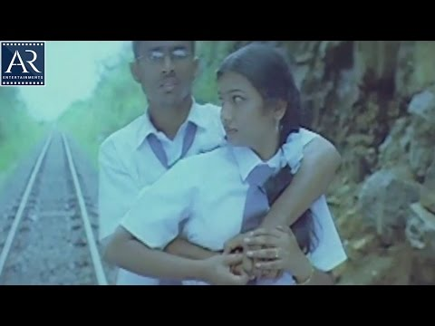 10th Lo Premalo Padithe Movie Scenes | Boy Kissing Girl On Railway Track | AR Entertainments