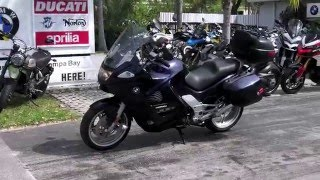 8. Pre-Owned 2004 BMW K 1200 GT Orient Blue Metallic at Euro Cycles of Tampa Bay