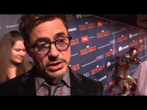 Paris Tour Robert Downey Jr. - B-Roll Paris Tour Robert Downey Jr. (Anglais)