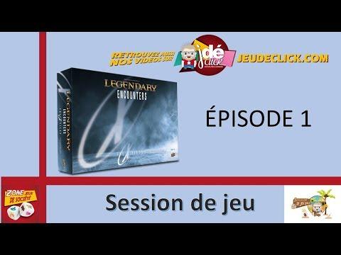 Session de jeu de Legendary x-files - Épisode 1