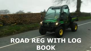 6. JOHN DEERE GATOR XUV 855D 2012 ONLY 2011hrs SOLD BY www catlowdycarriages com