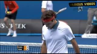Highlights: Federer v Gabashvili Roger Federer vs Teymuraz Gabashvili - Highlights Australian Open 2014 Highlights of the...