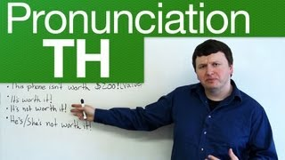 "http://www.engvid.com/ Did you know there are two ways to pronounce the ""TH"" sound in English? Find out the difference in ..."
