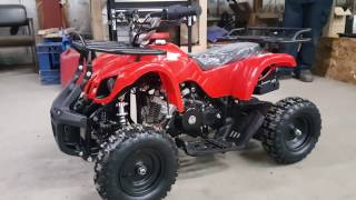 7. 50cc Atv Four Wheeler Quad Model 7B How To Start Easily & Product Features