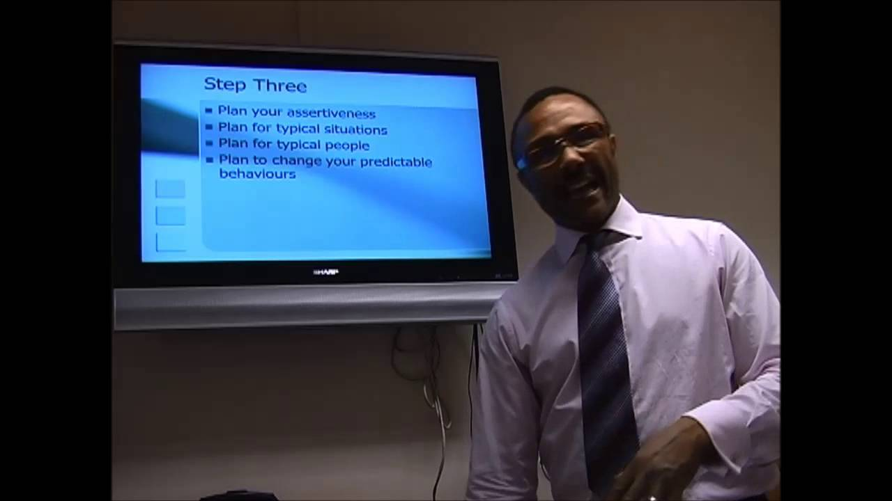 Part 3 - Planning for a More Assertive You
