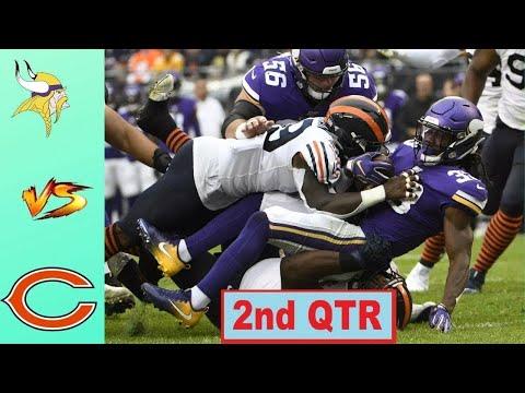 Chicago Bears vs Minnesota Vikings Highlights 2nd QTR   Week 10   NFL 2020