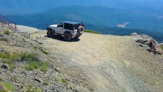 Off-Roading in Mendocino National Forest: Hull Mountain - Easy Off-Road Trail