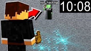 10 minutes of catching Minecraft hackers who pay $ to join this server..