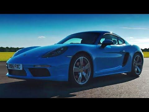 Porsche 718 Cayman S | Top Gear