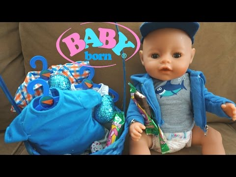 BABY BORN Ben's Easter Basket New Clothes