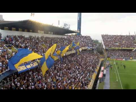Video - Previa + Recibimiento GIGANTE - Rosario Central Vs Tigre 2015 - Los Guerreros - Rosario Central - Argentina