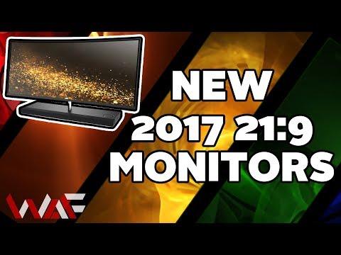 2017 New 21:9 Monitors