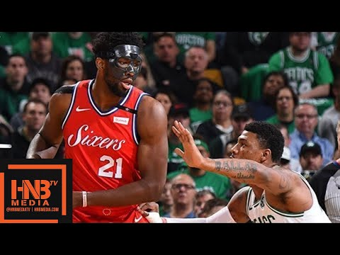 Philadelphia Sixers vs Boston Celtics Full Game Highlights / Game 1 / 2018 NBA Playoffs (видео)