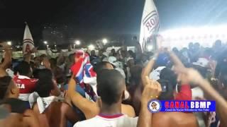 Torcida Bamor no jogo Bahia x São Paulo Copa do Brasil Sub-20 08/12/2016