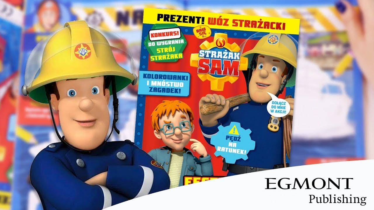 Czasopismo Strażak Sam, Wydawnictwo Egmont