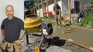 Pouring A Concrete Pad | How to Build a Shed | Part 2