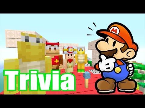 Minecraft Wii U - Super Mario Series - Tripolar Trivia Q&A [193]