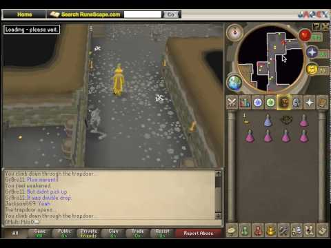 Edgeville Dungeon - Chaos Druids (видео)