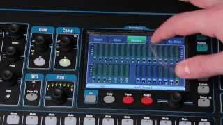 In this video we take an in-depth look at the Qu-16 digital mixing console from Allen & Heath. Dan goes into detail on the different ...