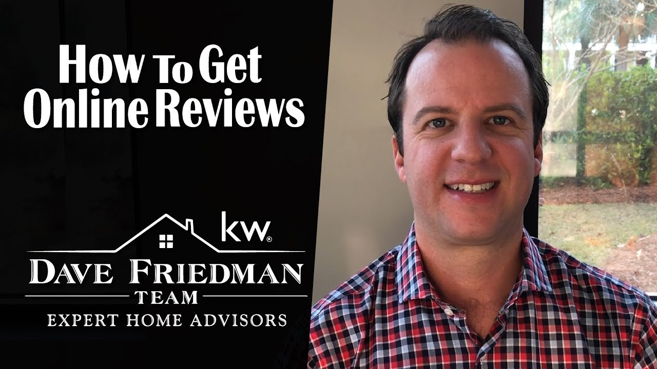 A Realtor's Guide to the Industry: How to Get Online Reviews