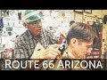 Old Time Classic HairCut and History Lesson with the Guardian Angel of Route 66 – Seligman AZ