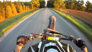 2. Gopro HD 5th gear wheelies on honda crf250r