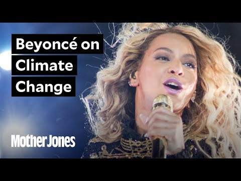 Beyoncé speaks out about climate change