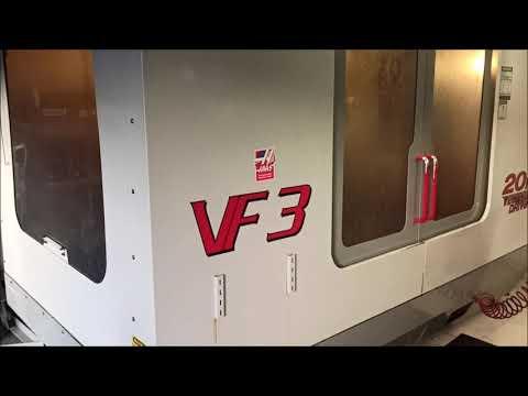 CNC verticaal bewerkingscentrum HAAS VF3 HE 2001