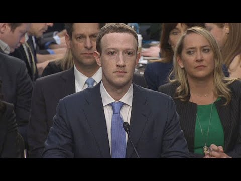 Facebook's Mark Zuckerberg Wears a Suit on Capitol Hill